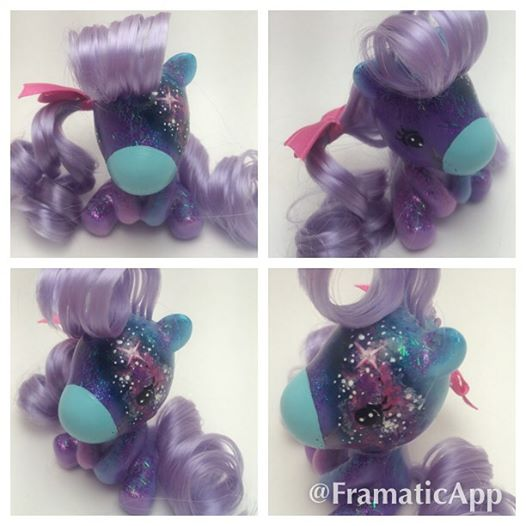 Nebula a Custom Resin Light Up Takara Fakie Baby by TiellaNicole