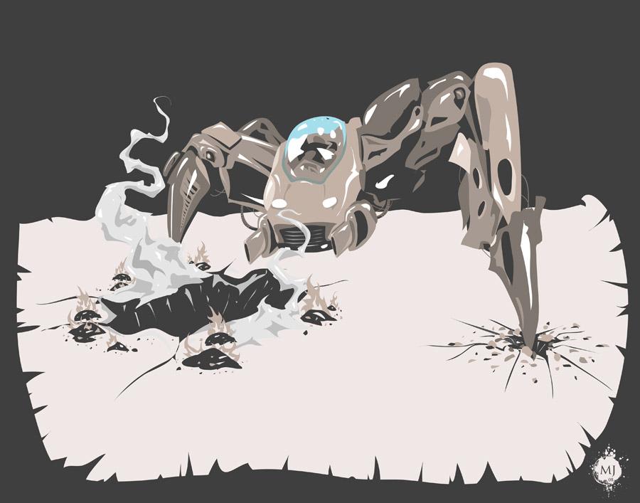 Destruction of Colony 030783 by seventhfury