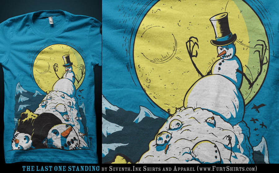 The Last One Standing tee by seventhfury