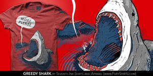 Greedy Shark T-Shirt