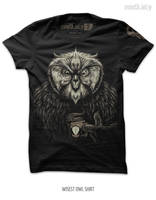 Wisest Owl Shirt by seventhfury