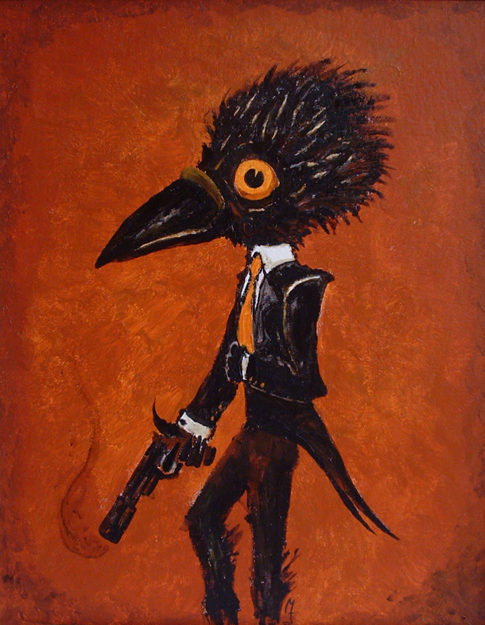 Double O Crow by seventhfury