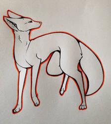 Kind of a doggo? by Soolrei