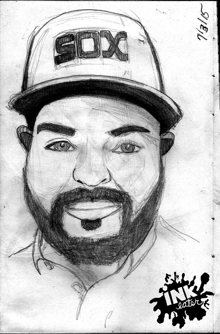 Edgar (Portrait) by inkeater