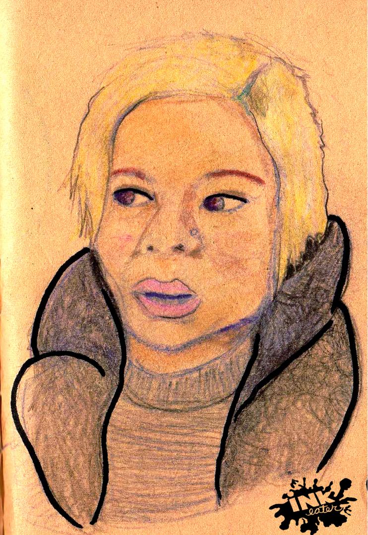 Eleni (Portrait) by inkeater