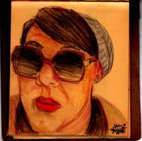 Jessica (Portrait) by inkeater