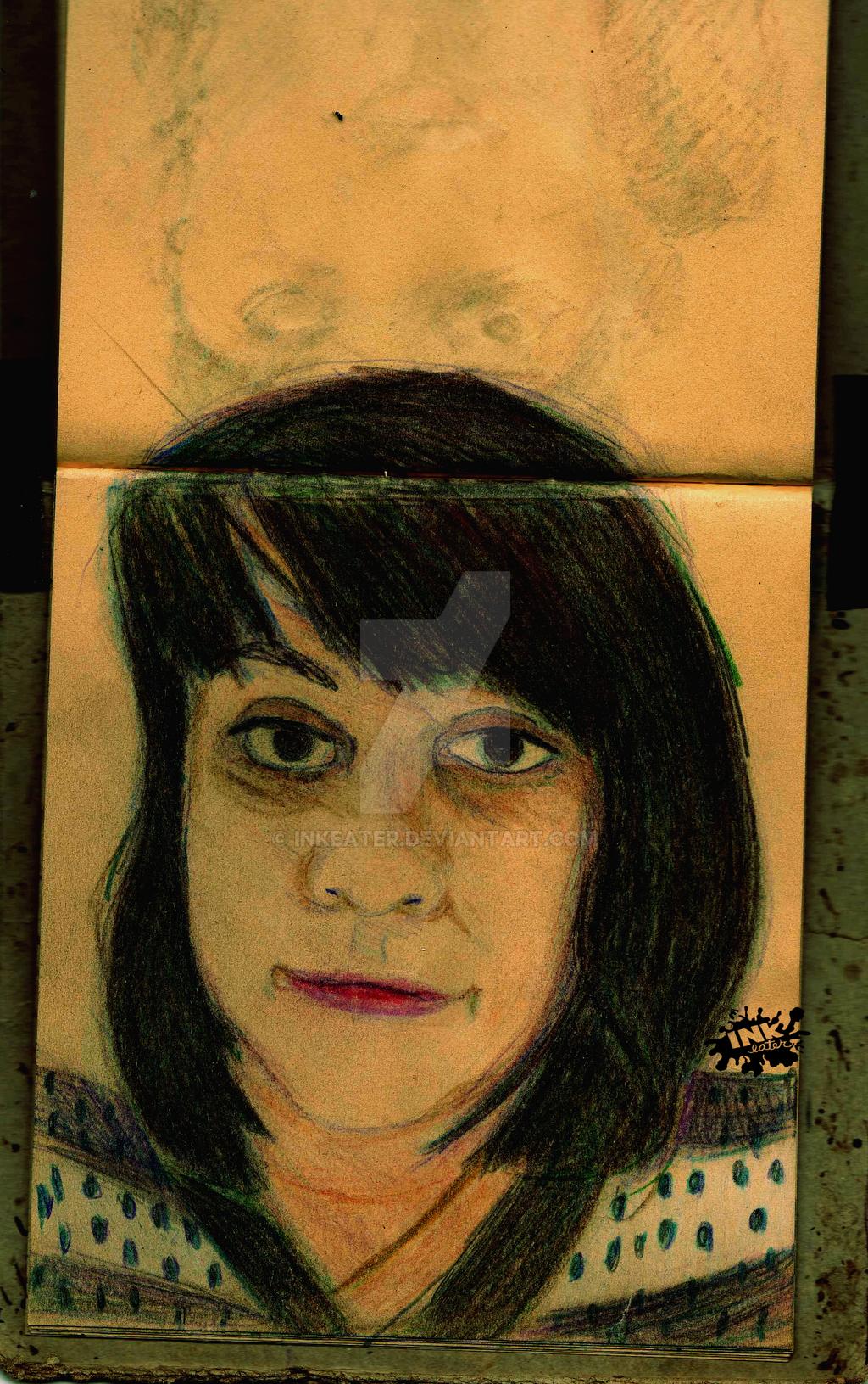 Cyn (Portrait) by inkeater