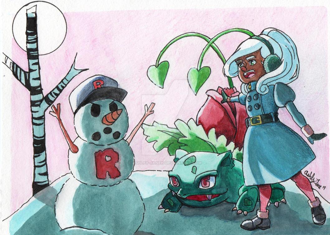 Team Rocket Snowman #002 by Ashley-JaneW