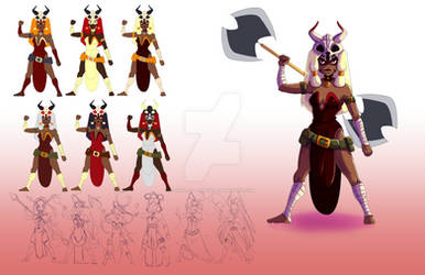 Character sheet design 2