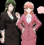 +: Narumi y Hanako | Render :+