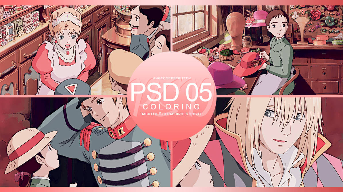 +: PSD | Coloring #05 :+
