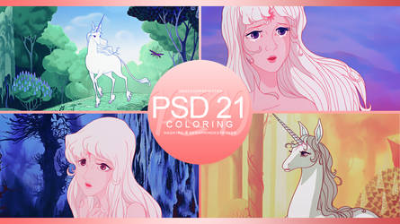 +: PSD | Coloring #21 :+