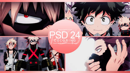 +: PSD | Coloring #24 :+