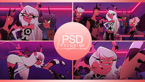 [$COMM USE] PSD   Coloring #32
