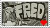 Fred Stamp 1 by CheshireCatGrin
