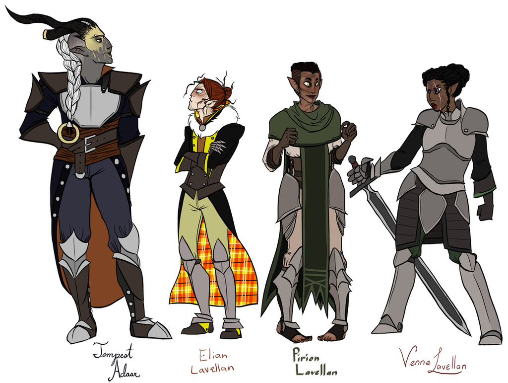 DA:I - Inquisitors by CheshireCatGrin