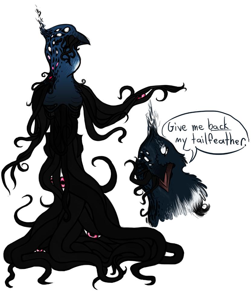 Monster Aeron by CheshireCatGrin