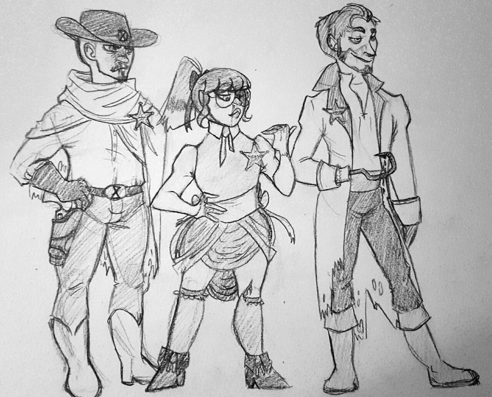The Wardens 3 by CheshireCatGrin