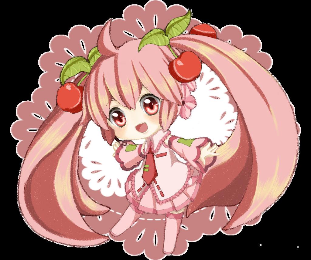 Sakura Miku by hirashi09kawame