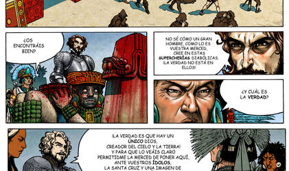 Tenochtitlan, the End of the Fifth Sun comic page