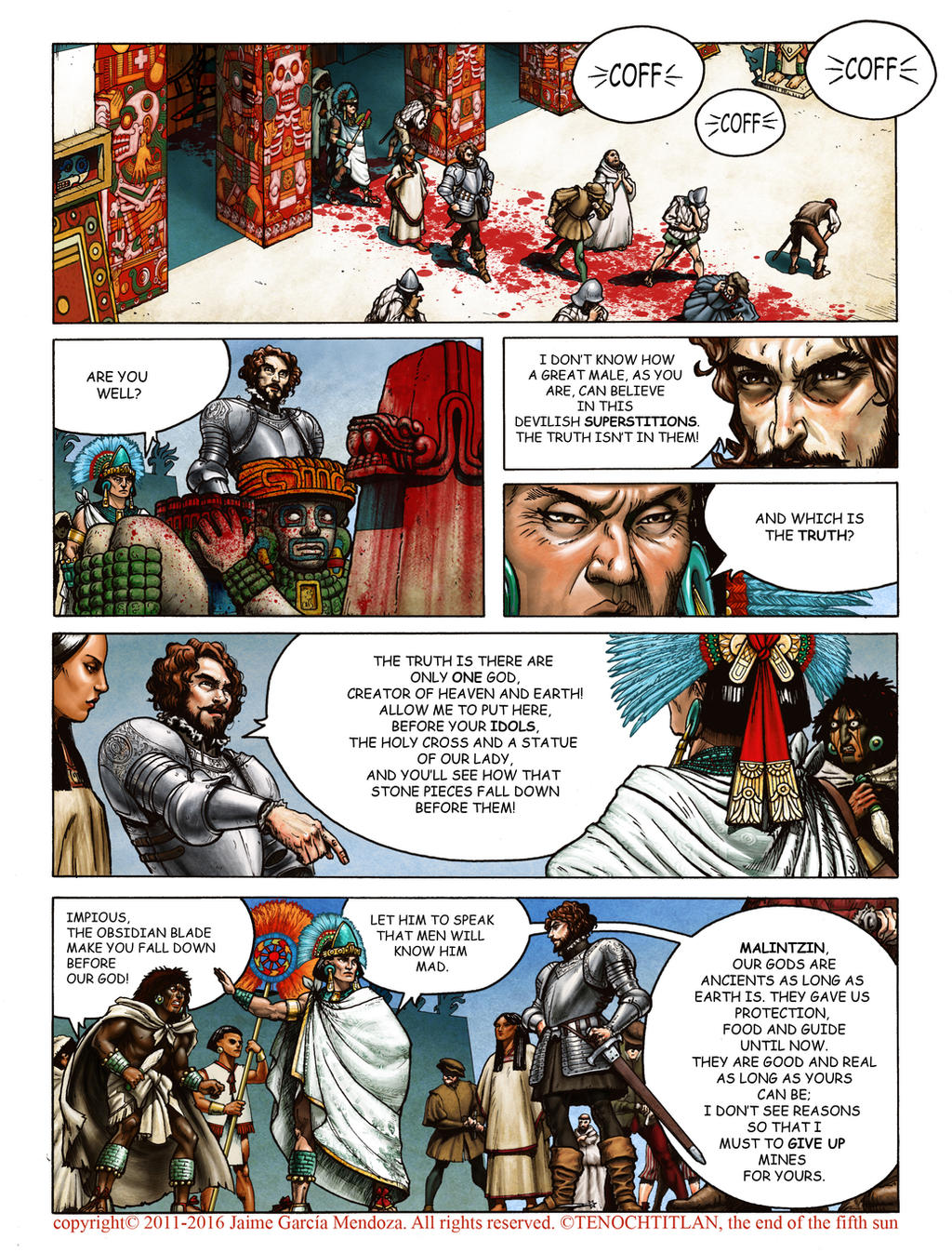 Tenochtitlan, chapter VI, page 27 by Jaime-Gmad