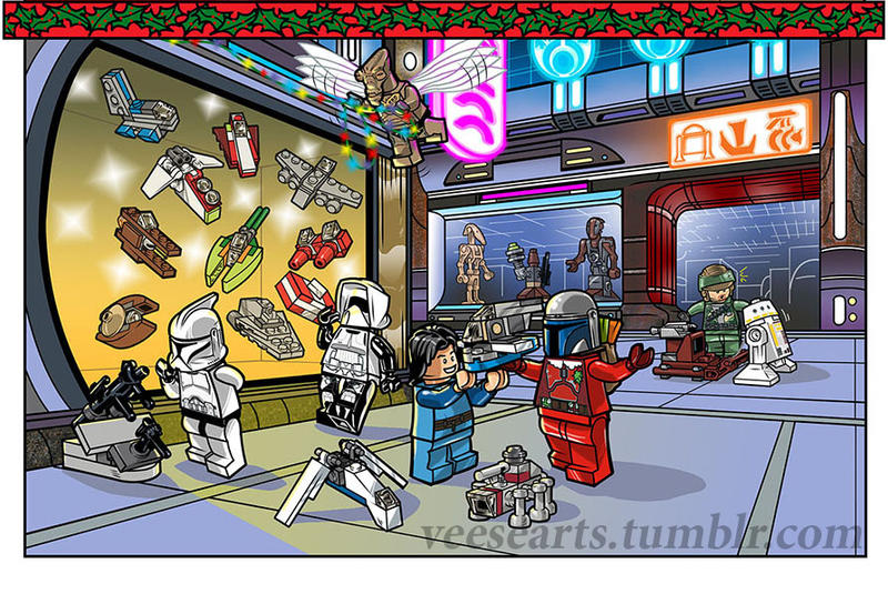 Lego STAR WARS Advent Calendar Page 2013 by DanVeesenmeyer on ...