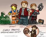 Chris Pratt Lego Army Sketch