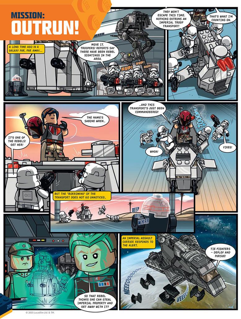 Poster Builder Lego Star Wars