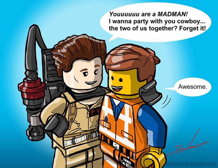 LEGO DIMENSIONS Team Up sketch by DanVeesenmeyer on DeviantArt