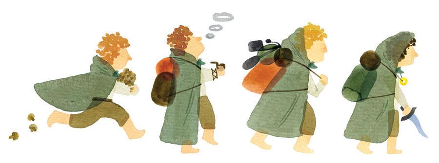 Hobbits by Sidus-U