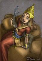 Child Goddess Asheth by Sidus-U