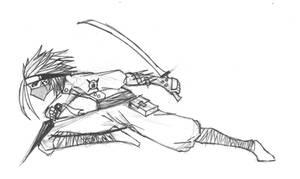 The ninja by guruji