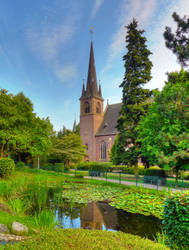 Church of Saint Amandus by Ladan-cz