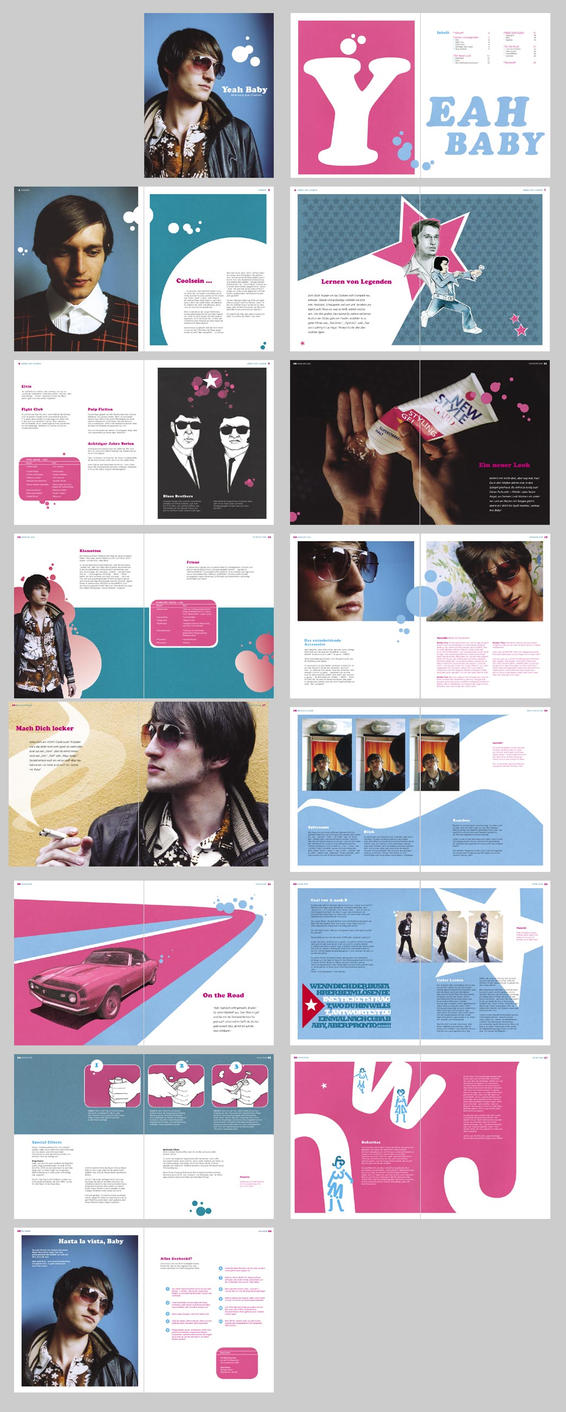 yeah baby - book pages by jetlag
