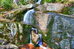 Trickling Stream - HDR by boldfrontiers
