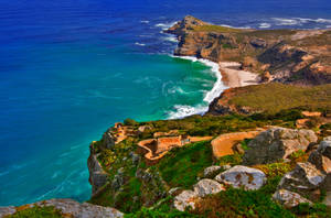 Cape Point II - HDR by boldfrontiers
