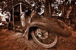 Vintage Scrap Car