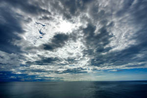 Ocean Clouds I by boldfrontiers