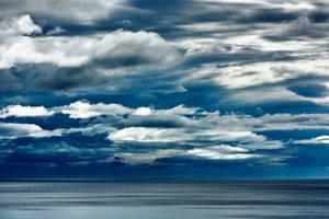 Ocean Clouds II by boldfrontiers