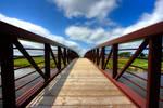 PEI Footbridge - Saint Peters Bay