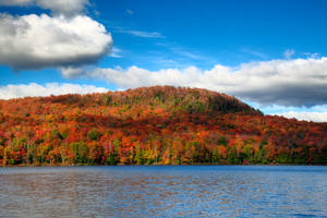 Autumn Lake Stukely I by boldfrontiers