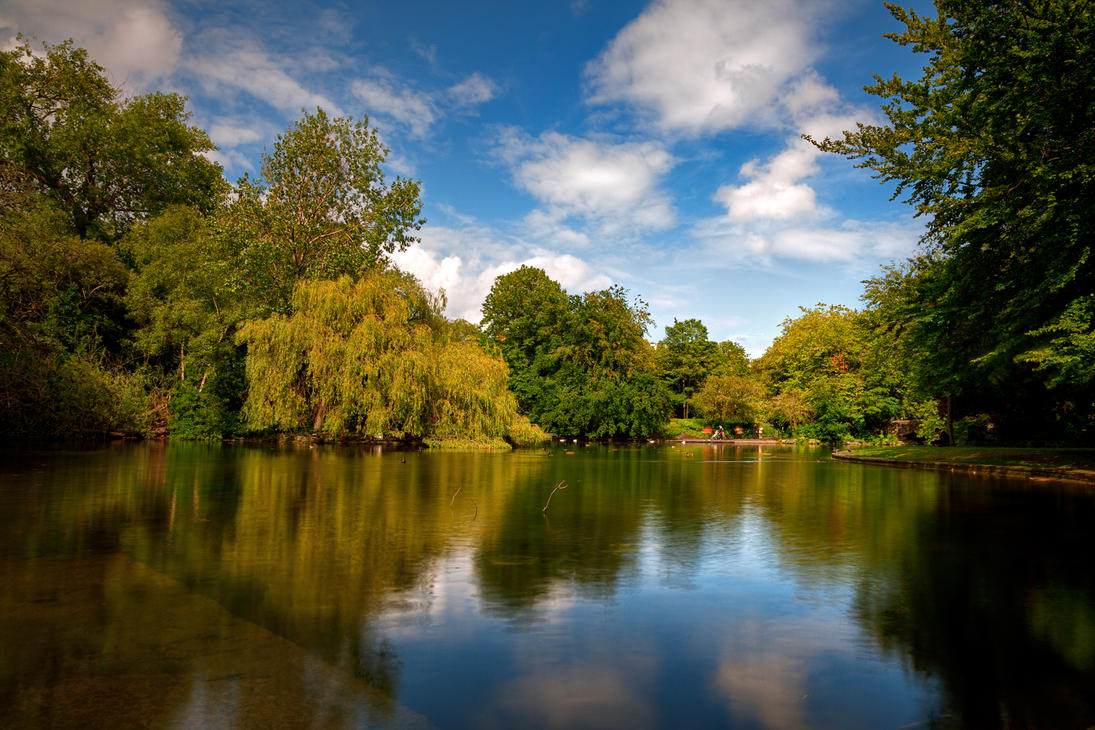 St. Stephen's Green IV - HDR by somadjinn