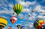 Vibrant Hot Air Balloons II