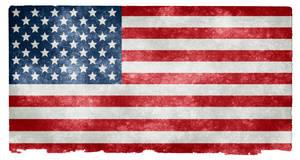 USA Grunge Flag II