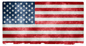 USA Grunge Flag II by boldfrontiers