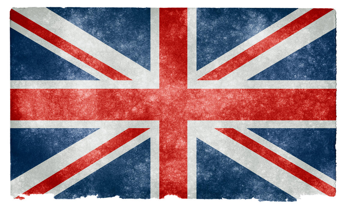 UK Grunge Flag II by somadjinn