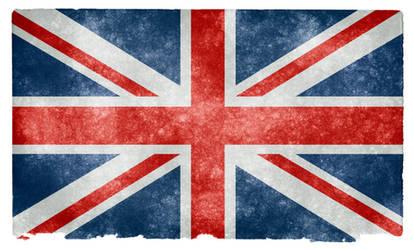 UK Grunge Flag II