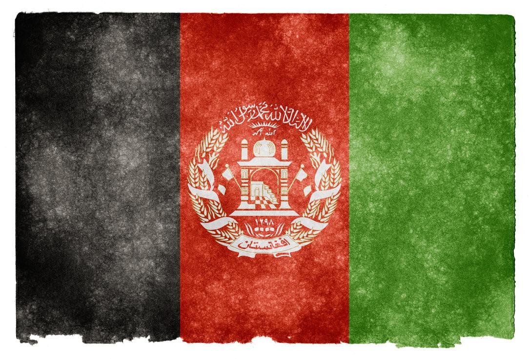 Afghanistan Grunge Flag by somadjinn