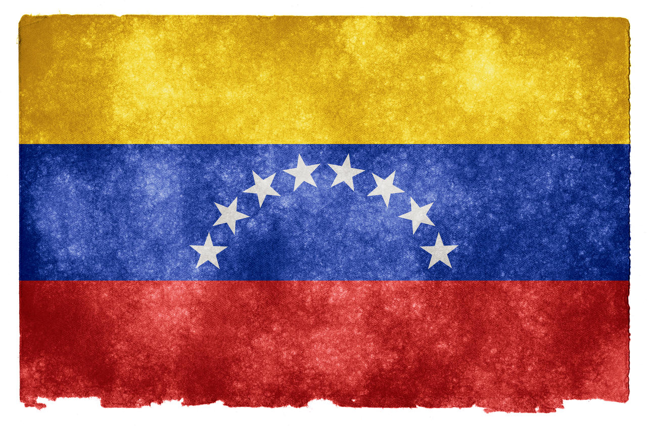 Venezuela Grunge Flag by somadjinn