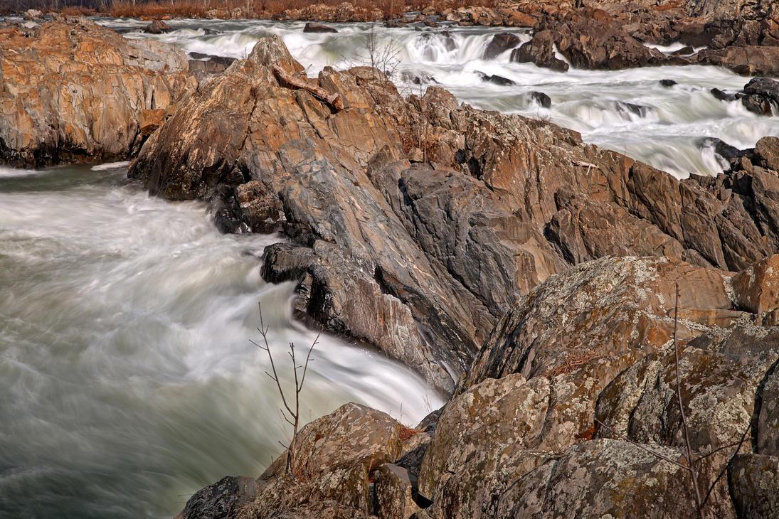 Great Falls VII - HDR by somadjinn